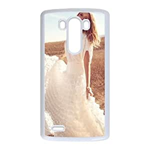 LG G3 Cell Phone Case White_Lily Donaldson Drqto