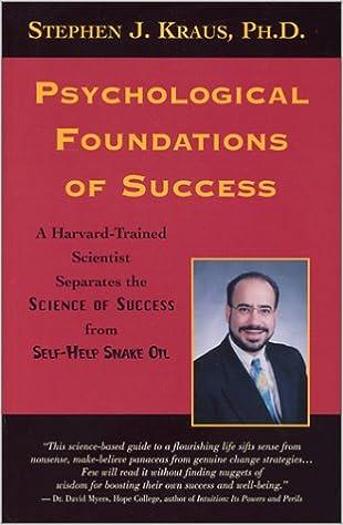 Psychological self help