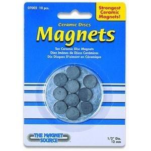 (Master Magnetics Ceramic Disc Magnets - 10-Pc. Set, Model# 07002)