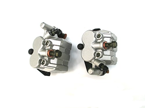 New LEFT & RIGHT FRONT BRAKE CALIPER SET FOR YAMAHA RHINO 660 450 YXR 660 2004-2007 by USonline911 (Image #5)