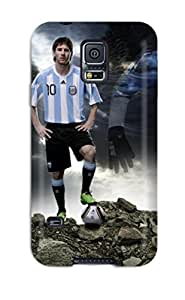 ZippyDoritEduard Case Cover Protector Specially Made For Galaxy S5 Lionel Messi Argentina Football Player