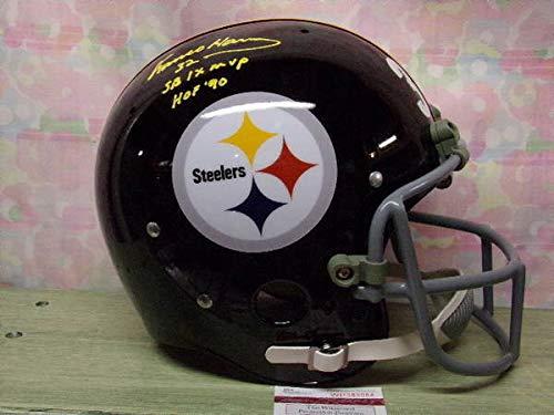 Franco Harris Autographed Signed Custom Pittsburgh Steelers Tk Helmet Hof90 Memorabilia - JSA Authentic