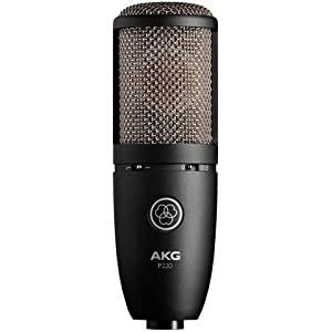 AKG P220 High-Performance Vocal Condenser Mic...