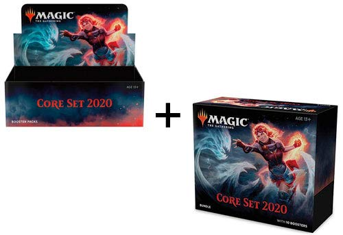 MTG Magic the Gathering 2020 Core Set M20 Booster Box + Bundle