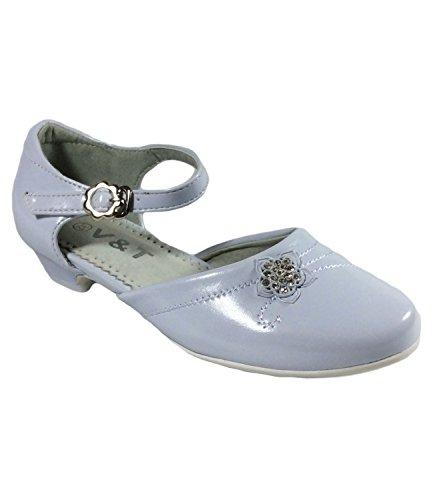 Filles Parti Cérémonie Soirée Chaussures Taille UK 12à 3Taille EU 31à 36Blanc