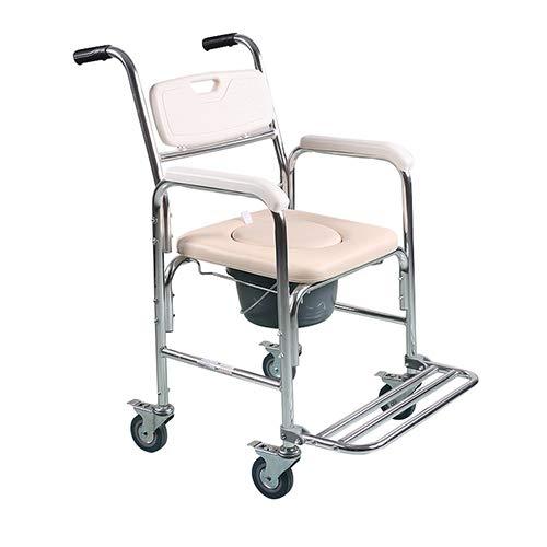 Inodoro con ruedas / con asiento y cojín del asiento y ...