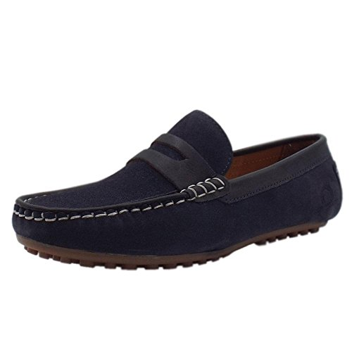 Chatham Women's Olana Loafers Blue (Navy Suede 004) g44iAD