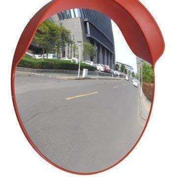 - SKB Family Convex Traffic Mirror PC Plastic Orange 24