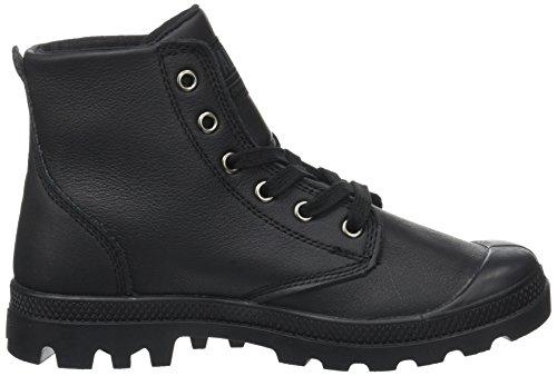 Sneaker U Palladium Hohe Hi Pampa Unisex Leat Schwarz Erwachsene Black Schwarz pOWn0Up