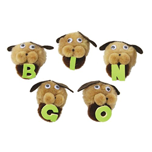 Bingo Melody - Melody House WZ-104 Characters Bingo Dogs Monkey Mitt Set, 1