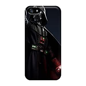 Shock Absorption Hard Phone Case For Iphone 5/5s With Custom Vivid Star Wars The Force Unleashed 2 Skin CristinaKlengenberg