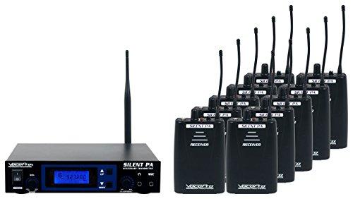 VOCOPRO SilentPA-Seminar10 16-Channel UHF Wireless Audio Broadcast System by VocoPro