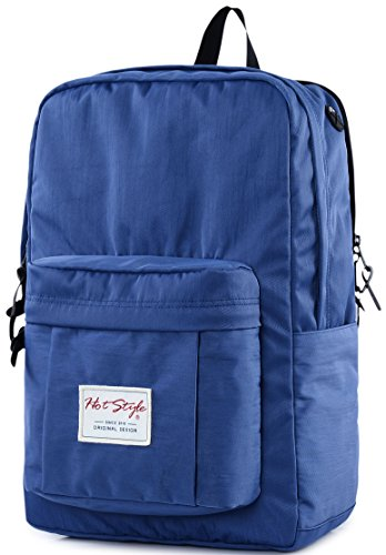 Casual Laptop Backpack - HotStyle Waterproof College Bookbag Fits 15.6