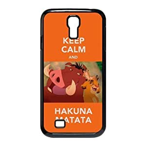 Keep Calm For Samsung Galaxy S4 I9500 Durable Plastic Case-Creative New Life Kimberly Kurzendoerfer
