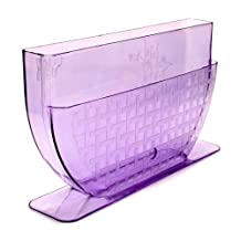 "New Star International NS1031 Rice Paper/Egg Roll Water Bowl, 11"", Lavender"