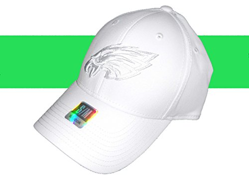 Philadelphia Eagles White Tonal Flex Fit Hat Small/medium