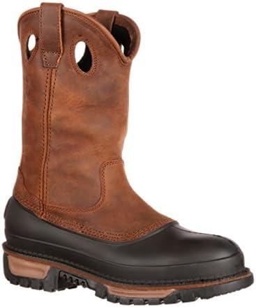 Georgia Boot Mens Muddog Work Shoe