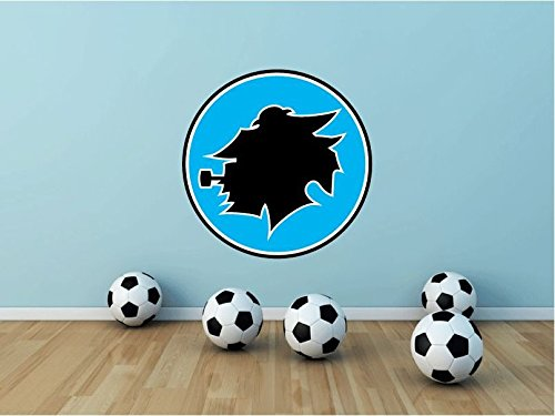 Sampdoria Genoa FC Italy Soccer Football Sport Art Wall Decor Sticker 22'' X 22'' by postteam