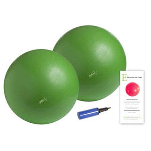 Althea Medical Group AMG Anti-Burst Exercise Ball Kit, 65cm, Green