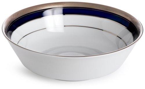 Crestwood Platinum (Noritake Crestwood Cobalt Platinum Round Vegetable Bowl)