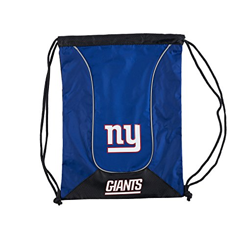 The Northwest Company NFL New York Giants NFL Doubleheader Backsack, Navy, Measures 19