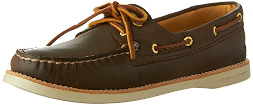 Sperry Top-Sider Women's Gold Cup Authentic Original Boat Shoe (8 B(M) US, Brown)