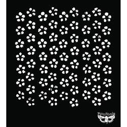 Bulk Buy: Prima Marketing (3-Pack) Sunrise Sunset Designer Stencil 6\'X6\' Flower 960162