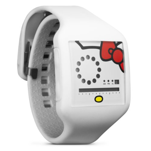 Nooka Hello Kitty Zub Zirc Adult Stylish Watches - White / 20mm