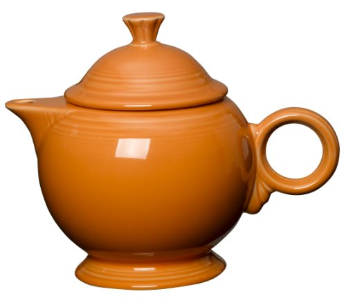 Fiesta 44-ounce Covered Teapot, (Orange Drinks For Halloween)