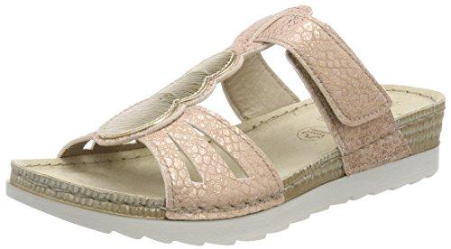 Jana Damen 27216 Pantoletten pink (rose/gold)