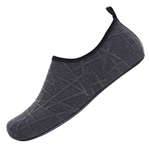 - 2019 JJLIKER Women's Men Couple Double Water Shoes Barefoot Quick-Dry Aqua Socks Surfing Pool Yoga Beach Swim Shoes
