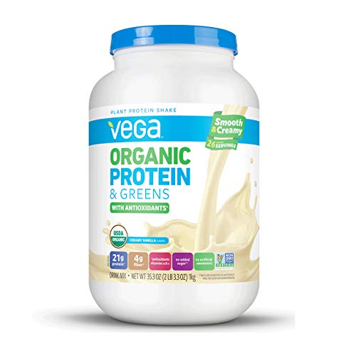 Vega Organic Protein Greens servings product image