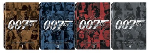 James bond 007 ultimate dvd collector's set | boxset action, dvd.