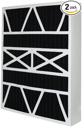 MERV 13 Aftermarket Lennox Replacement Filter 19.75x24.5x6 2 Pack 20x25x6