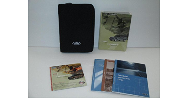 Software 03 2003 Ford Expedition Owners Manual Book Guide Set ...