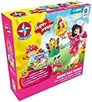 Super Massa Reino Das Fadas Com Livro, Brinquedos Estrela, Multicor