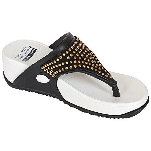 9fb134964386 Appe Uni-verve Women casual Slipers flip-flop with high comfort sole    Material  Buy Online at Low Prices in India - Amazon.in