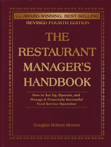For sale The Restaurant Manager' Handbook: How Set , Operate, and Manage Financially Successful Food Service Operation