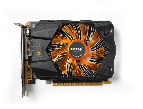 ZOTAC NVIDIA GeForce GTX 750 Ti 2GB GDDR5 2DVI/Mini HDMI PCI-Express Video Card ZT-70601-10M (Best Dx11 Graphics Card)