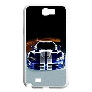 Dodge Samsung Galaxy N2 7100 Cell Phone Case White present pp001_9623953