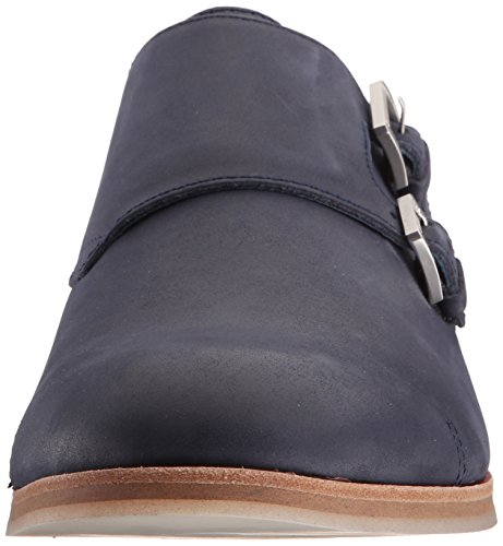 Calvin Klein Mens Faber Washed Leather Monk Strap Dark Navy hZRA18u8x