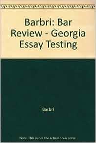 barbri essay book Barbri international has essay writing workshops and personalised grading only barbri has essay writing multistate bar exam practice questions book.
