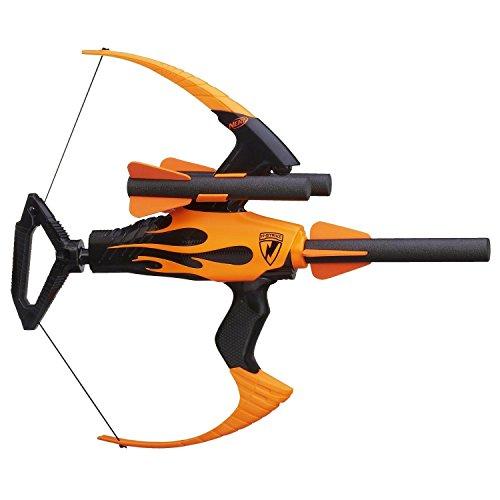 Nerf N-Strike Blazin' Bow Blaster, real bow action - 3 foam arrows - storage ^G#fbhre-h4 8rdsf-tg1302230 by Fotelilona