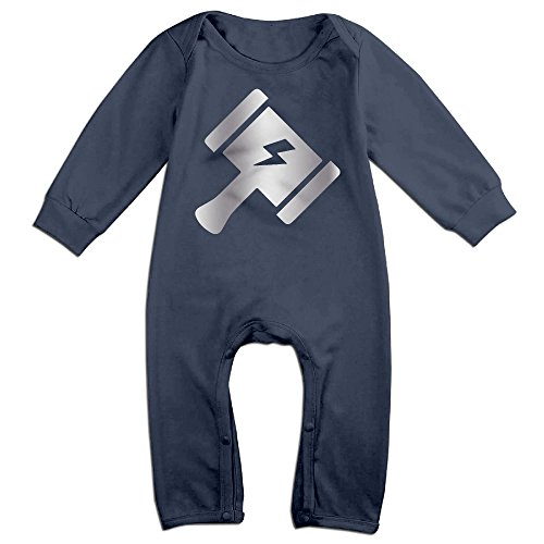 baby-boys-thor-hammer-logo-platinum-style-romper-jumpsuit-outfits