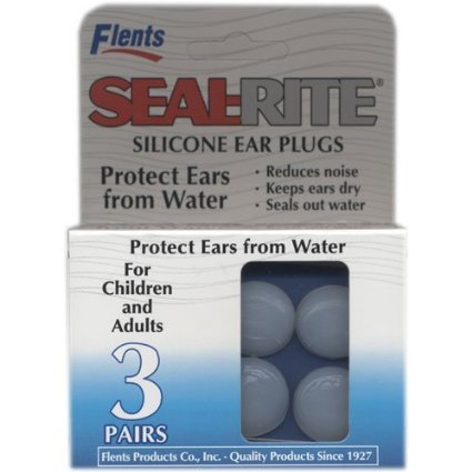 Flents Seal-Rite Ear Plugs - 3 Pair