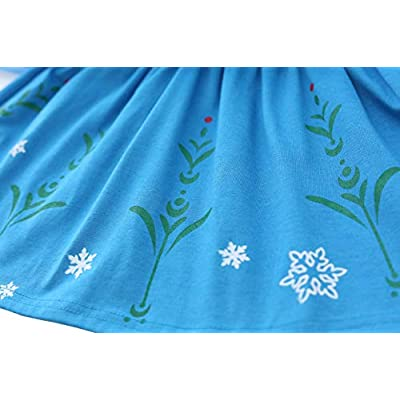 Dressy Daisy Toddler Girls Ice Princess Sister Dresses Up Costume Halloween Birthday Party Size 2T 196: Clothing