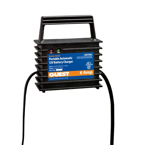 Marine Battery Charger And Monitor : Guest a portable marine battery charger volt
