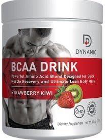 Dynamic BCAA Drink Strawberry Kiwi Flavor