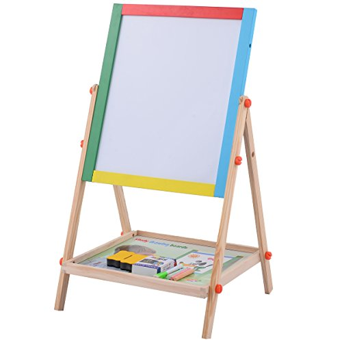Costzon Adjustable Wooden Drawing Standing product image