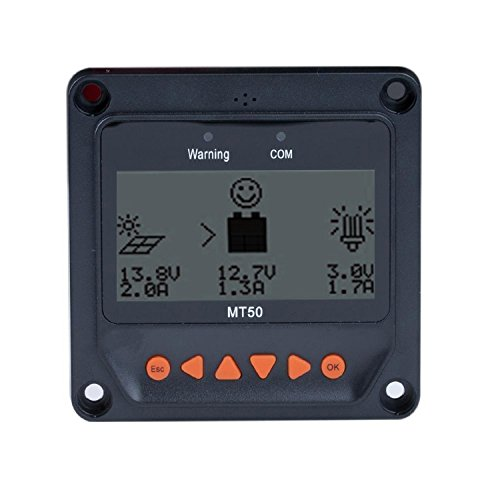 ACOPOWER Mt-50 LCD Display Suitable for Hy Series MPPT Charge Controller, Remote Meter